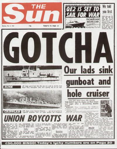 memorable headlines gotcha the editor s desk
