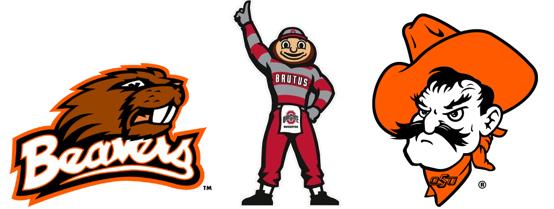 OSU mascots