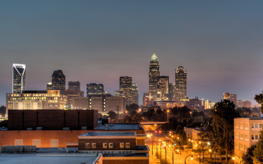 Creative Commons image of Charlotte, N.C.