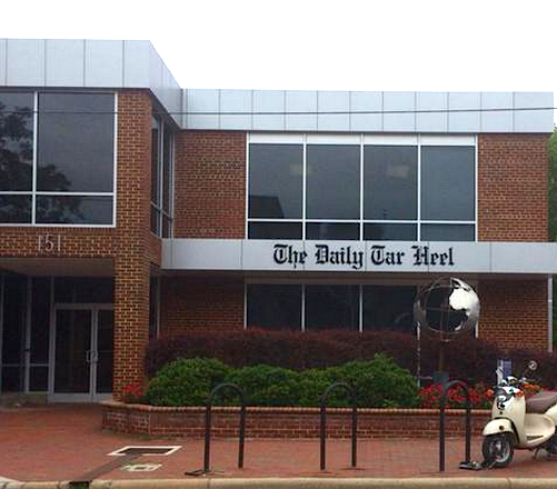 The Daily Tar Heel staff works in this building in Chapel Hill. The DTH is an independent, student-run publication.